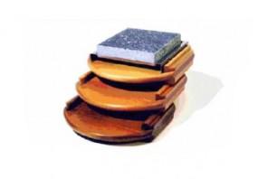 Holzset Modell 4 Eiche rustikal